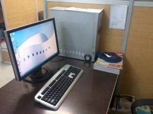 کامپیوتر من در دفتر شبکه