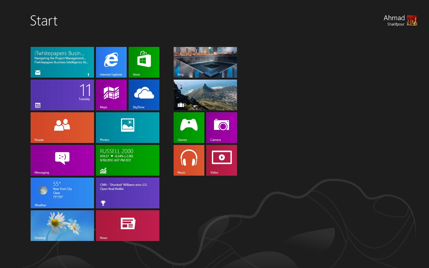 پنجره هشتم، بررسی ویندوز 8 مایکروسافت : نصب
