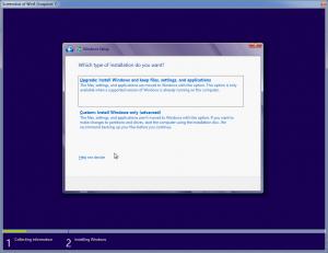 بهروزرسانی ویندوز قبلی یا نصب ویندوز جدید