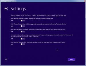 ارسال اطلاعات به مایکروسافت، بهتر کردن ویندوز